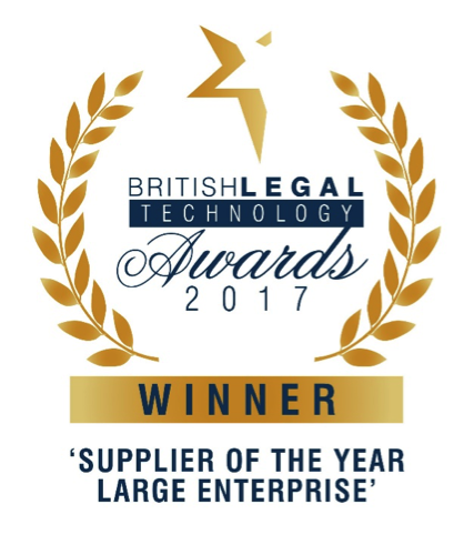 British Legal Technology Awards 2017 Winners Logo