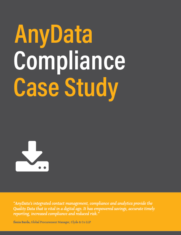 AnyData Compliance Case Study Icon
