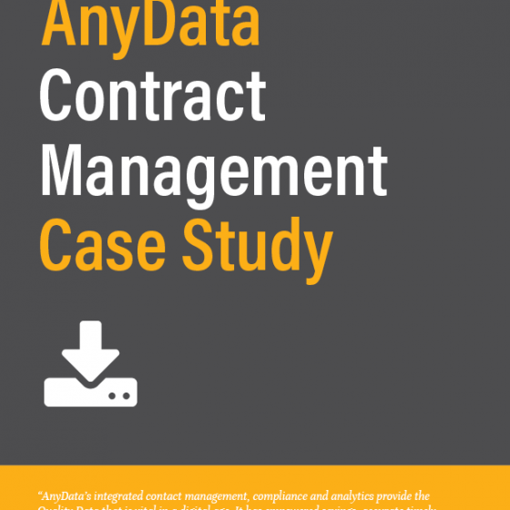 AnyData Contract Management Case Study Icon